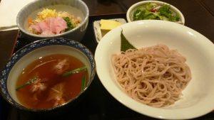蕎麦(桜そば)