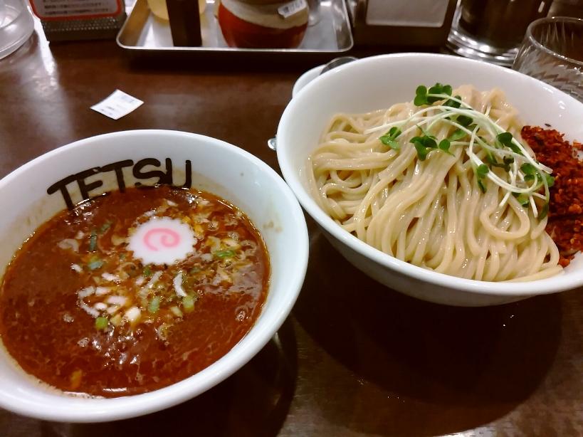 つけ麺(豚骨×魚介、辛ver)