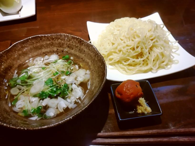 つけ麺(あら汁つけ麺)