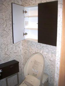 壁紙クロスと収納スペース
