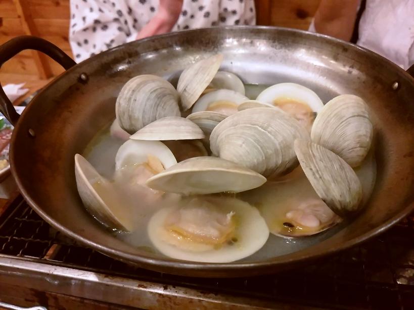 白蛤(ホンビノス貝)の酒蒸し