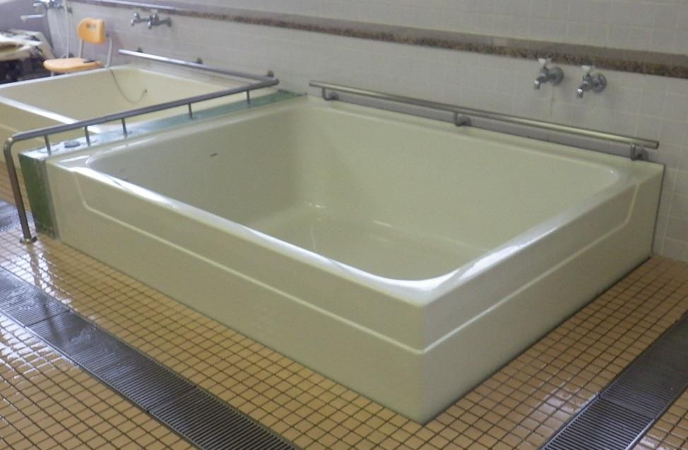 老人デイサービスセンター 浴槽取り換え工事