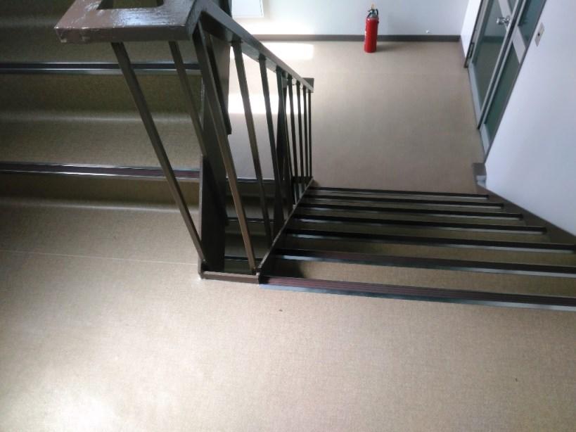 階段床完了
