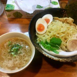 濃厚鶏つけ麺(鶏骨醤油)
