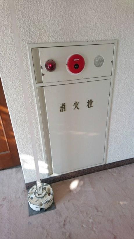 消火栓の扉