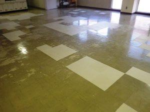 床の修繕 乾性
