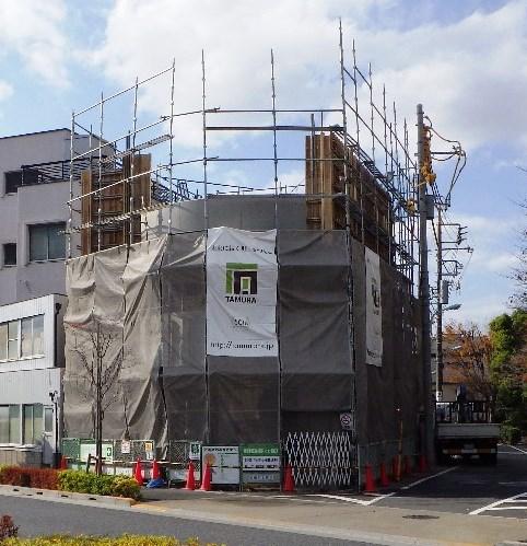 新築マンション工事