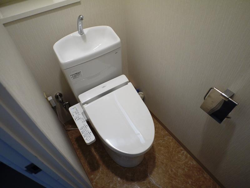 女子トイレ改装後