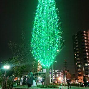 東川口駅イルミネーション