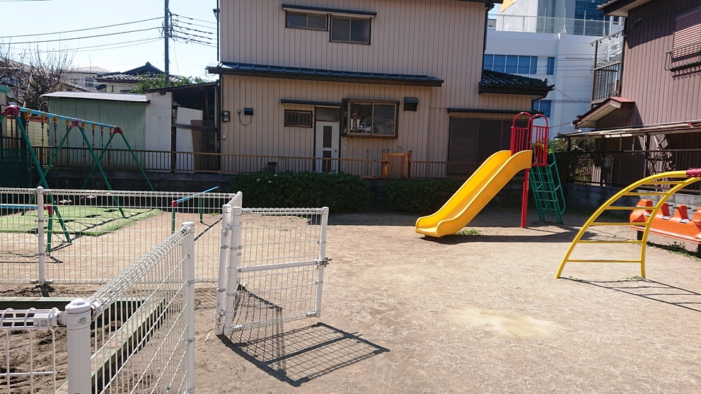 稲荷前子供の遊び場